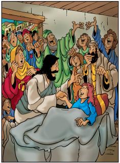 Jesus-heals-a-little-girl