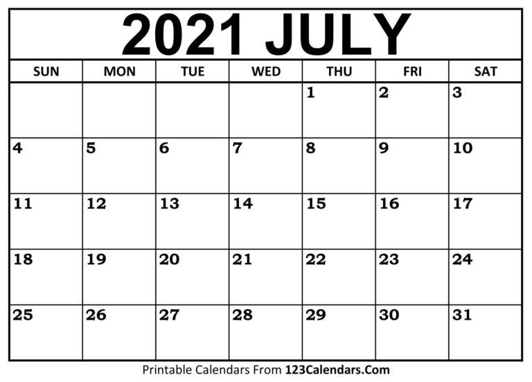 2021-07-Calendar